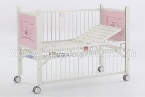 B-35-2 Epoxy Coated Semi-fowler Child Bed