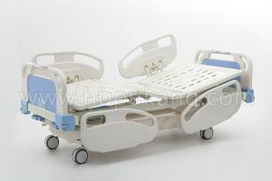 B-6-3 Movable full-fowler Bed with ABS head/foot Board(Central Locking)
