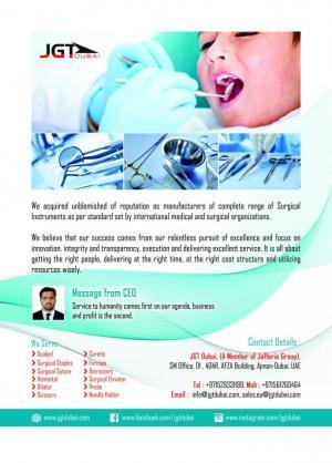 JGT DUBAI, Company Profile
