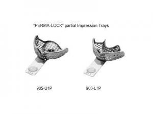 STAINLESS STEEL IMPRESSION TRAYS6