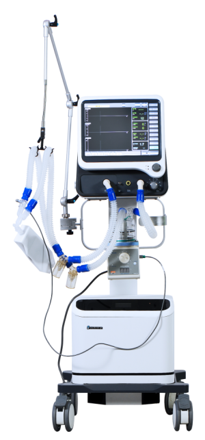 Full function integrated ICU Ventilator