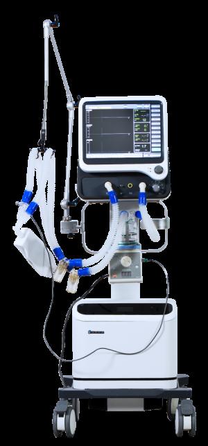 Full function integrated ICU Ventilator