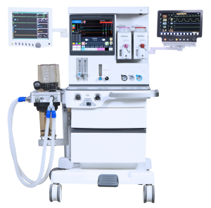 Full function integrated Anesthesia ventilator