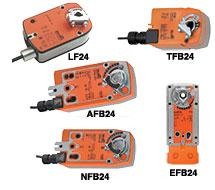 TFB, LF, NFB, AFB, EFB Series   Belimo Direct Coupled Actuators Spring Returns  Kele