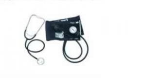 Aneroid Sphygmomanometer and Single head stethoscope