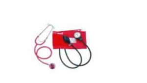 Aneroid Sphygmomanometer & Dual head stethoscope
