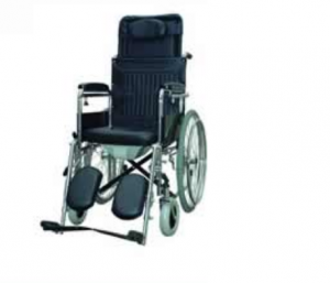 Chrome wheelchair