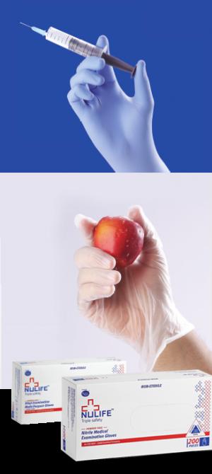 Vinyl Gloves - Examination Gloves Non Sterile Powder Free