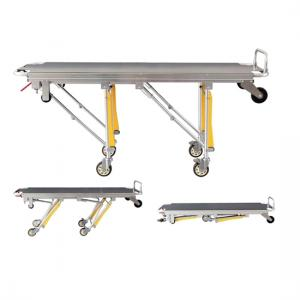Mortuary stretcher trolley:single operator|Suzhou AO Tech Co.,Ltd.
