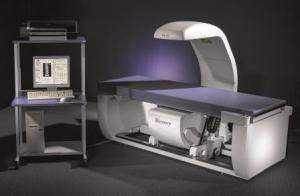 The Hologic Discovery DXA Bone Densitometry system