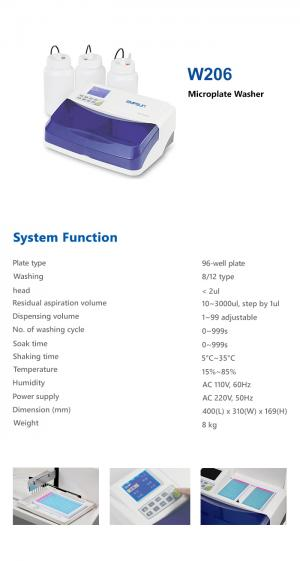 W206 - Microplate Washer - Empsun