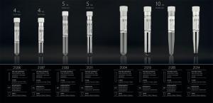 Sterile test tubes with cap - FL MEDICAL