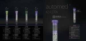 Blood collection tubes - Paediatric tubes, lithium heparin tubes FL MEDICAL