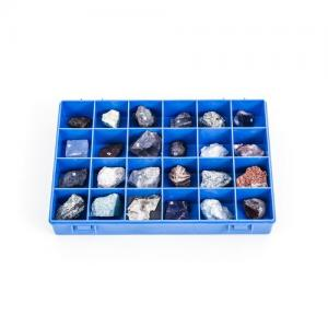 Collection of 24 minerals - 1018444 - U72020 - Mineralogy - 3B Scientific
