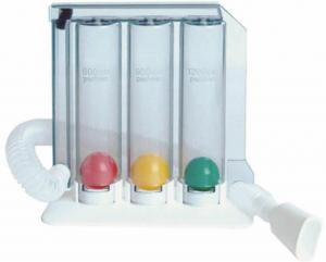 Lung Exerciser - 3 Ball Spirometer manufacturer in India