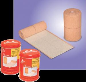 Flamiplast (Elastic Adhesive Bandage B. P.)