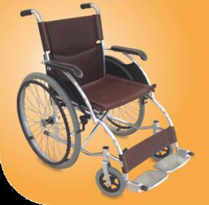 Classic Wheel Chair Premium (All Alluminium)