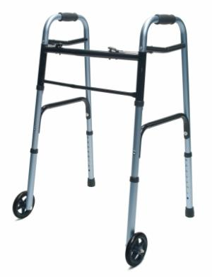 GF: Lumex ColorSelect Adult Walker with Wheels