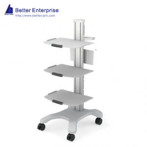MRI Compatible Multifunction Single Column Equipment Cart, MRI Compatible Multifunction Single Column Equipment Cart Manufacturer | BETTER