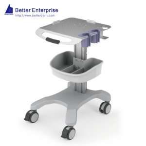 Ultrasound Cart (Fixed Height with 2 Probe Holders), Ultrasound Cart (Fixed Height with 2 Probe Holders) Manufacturer | BETTER