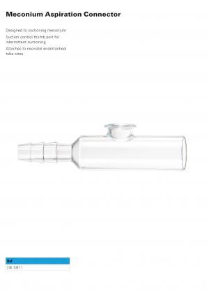 Meconium Aspiration Connector
