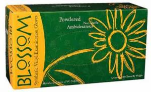 Powder Vinyl Exam Gloves Mexpo International Inc :: Blossom Disposable Products