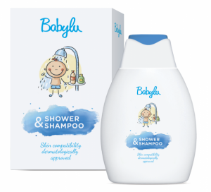 Babylu Bath Shower / Shampoo 2 in 1