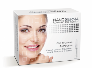 NanoDerma® CLT10-Caviar Lifting Treatment Ampoules