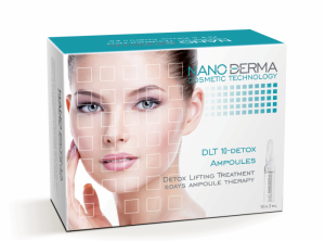 NanoDerma® DLT10-Detox Lifting Treatment Ampoules