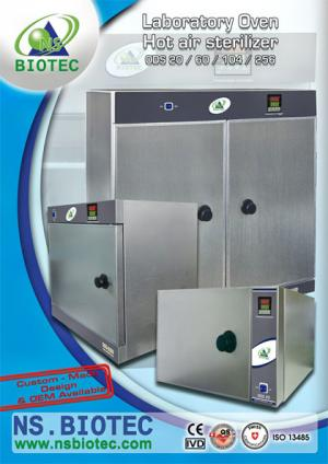 laboratory Hot Air Drying and sterilization Oven