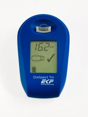 DiaSpect Tm portable hemoglobin analyzer