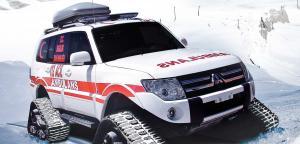 Ems - Ambulance - Wheeld / Snowtrack Ambulance