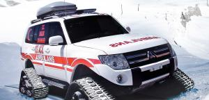Ems - Ambulance - Wheeld / Snowtrack Ambulance