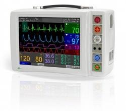 FX 2000P portable patient monitor - EMTEL - kardiomonitory, defibrylatory, profesjonalny serwis producenta