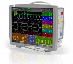 FX 3000 compact patient monitor - EMTEL - kardiomonitory, defibrylatory, profesjonalny serwis producenta