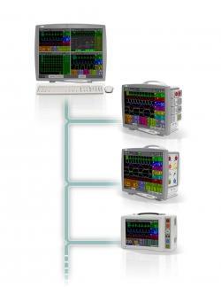 FX 3000C central monitoring station - EMTEL - kardiomonitory, defibrylatory, profesjonalny serwis producenta