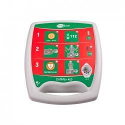 DefiMax AED - automatic external defibrillator - EMTEL - kardiomonitory, defibrylatory, profesjonalny serwis producenta