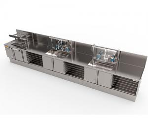 CUSTOMIZED PRE-CLEANING STATIONS - FAMOS