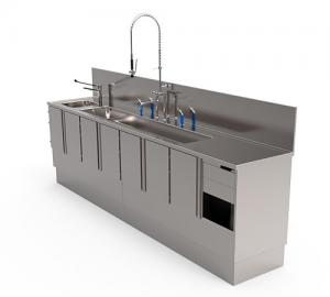 Clean-up counter for endoscopes - FAMOS