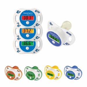 digital pacifier thermometer for children