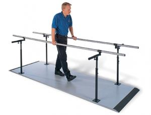 Hausmann Industries, Inc. | Econo Platform Mounted Parallel Bars