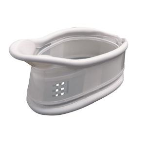 Rigid PVC cervical collar C3 with chin support