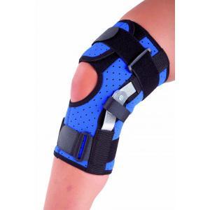 Semi open knee support