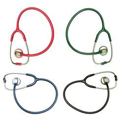 CONSULTO STETHOSCOPE, SINGLE FLAG, ADULT, GREEN