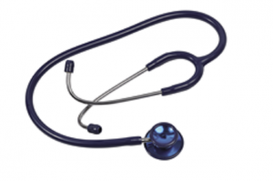IDEAL + STETHOSCOPE, DOUBLE FLAG, ADULT, BLUE