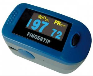 PULSE OXIMETER ADULT COLOR SCREEN WITH POUCH