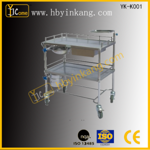 Stainless Steel Medical-change Trolley