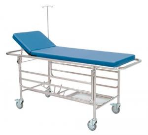 Urgencies Stretcher Trolley, stainless steel structure Inmoclinc 10050