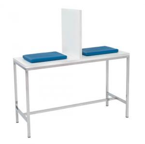 Blood collection tables. Stainless steel structure Inmoclinc 14302