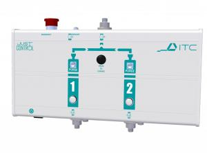 JUSTcontrol 1000: Automatic cylinder exchange management designed for ambulances.